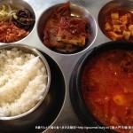 豚大門市場(馬喰町/韓国料理)でブテチゲを食す