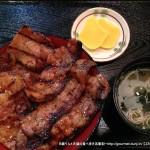 ぶたいち(人形町)の帯広名物豚丼