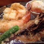天ぷらめし金子半之助(三越前)の贅沢ご飯