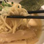 蛇の目屋(河原町)で唐揚げセット鶏白湯麺を食べる