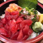大江戸(築地)で食べる朝の限定海鮮丼