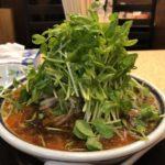 神名備(西日暮里)の無化調ごまの酸辣麺2052円