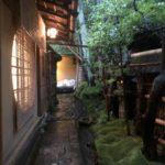 瓢亭(京都:南禅寺)で初めてのミシュラン三ツ星とご対面